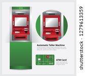 atm automatic teller machine... | Shutterstock .eps vector #1279613359