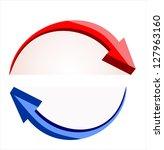 vector arrows | Shutterstock .eps vector #127963160