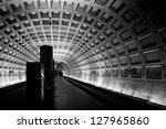 Subway Station  Washington Dc ...