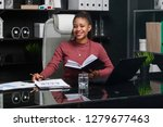 young african american... | Shutterstock . vector #1279677463