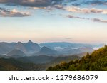 a large number of peaks in... | Shutterstock . vector #1279686079