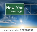 New You Next Exit  Sign...