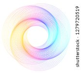 design elements. wave of many... | Shutterstock .eps vector #1279720519