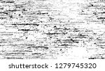 dry brush strokes and scratches ... | Shutterstock .eps vector #1279745320