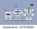 evolution of robots stages of... | Shutterstock .eps vector #1279750003