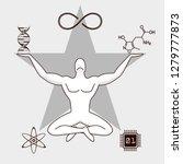 transhumanism symbolics concept ...   Shutterstock .eps vector #1279777873