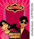 bollywood  is the indian hindi... | Shutterstock .eps vector #1279782196