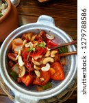 vietnamese cashew chicken on... | Shutterstock . vector #1279788586