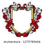 a coat of arms crest heraldic... | Shutterstock .eps vector #1279789606