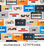 colorful detailed audio... | Shutterstock .eps vector #1279791466