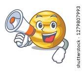 with megaphone planet venus in... | Shutterstock .eps vector #1279807993