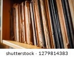 very old vintage books and... | Shutterstock . vector #1279814383