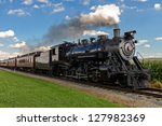 Historic Steam Train Passes...