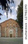 san pietro in ciel d'oro church ... | Shutterstock . vector #127982390