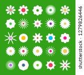 spring flover icons. vector... | Shutterstock .eps vector #1279826446