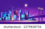 vector horizontal illustration... | Shutterstock .eps vector #1279828756