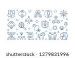 vector business collaboration... | Shutterstock .eps vector #1279831996