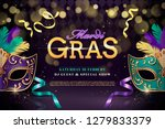 Mardi Gras Party Design With...