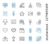 ui icons set. collection of ui...