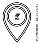 letter z and map pin. logo...