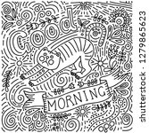 Good Morning Text Lettering...