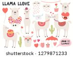 big valentines day set with... | Shutterstock .eps vector #1279871233
