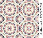 geometric seamless pattern ... | Shutterstock .eps vector #1279923733