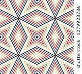 geometric seamless pattern ... | Shutterstock .eps vector #1279923736