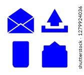 iconscount  correspondence... | Shutterstock .eps vector #1279924036