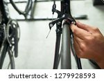 close up image of man checking... | Shutterstock . vector #1279928593