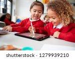 close up of two kindergarten... | Shutterstock . vector #1279939210