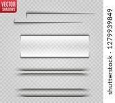vector shadows isolated.... | Shutterstock .eps vector #1279939849