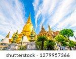 grand palace of bangkok wat pra ... | Shutterstock . vector #1279957366
