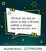 vector illustration of quote.... | Shutterstock .eps vector #1279962046