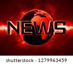 news text futuristic background ... | Shutterstock . vector #1279963459