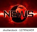 news text futuristic background ... | Shutterstock . vector #1279963459