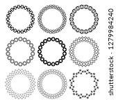 set of arabic geometric figures ... | Shutterstock .eps vector #1279984240