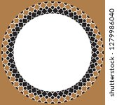 islamic geometric figures... | Shutterstock .eps vector #1279986040