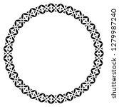islamic geometric figures... | Shutterstock .eps vector #1279987240