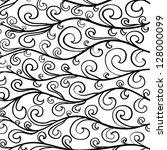 seamless abstract hand drawn... | Shutterstock .eps vector #128000099