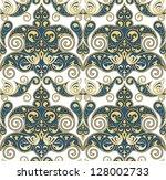 vector seamless ornament... | Shutterstock .eps vector #128002733