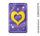 Divination Card With Heart