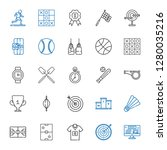 competition icons set.... | Shutterstock .eps vector #1280035216