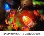 feast of christmas. amazing...   Shutterstock . vector #1280070406