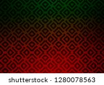 dark green  red vector... | Shutterstock .eps vector #1280078563
