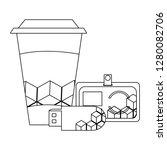 corporate merchandise elements... | Shutterstock .eps vector #1280082706