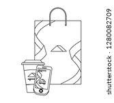 corporate merchandise elements... | Shutterstock .eps vector #1280082709
