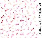 light red vector seamless...   Shutterstock .eps vector #1280087170