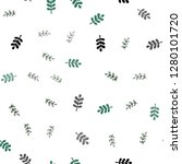 dark green vector seamless... | Shutterstock .eps vector #1280101720