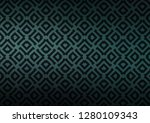 dark blue  green vector... | Shutterstock .eps vector #1280109343